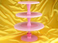Tortenständer Hula Up Pink XXL
