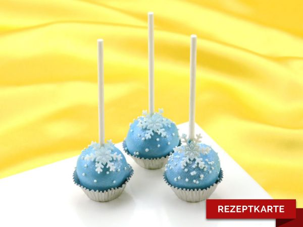 Winterliche Cake-Pops