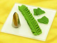 Garniertülle Blatttülle klein 14mm x 2mm