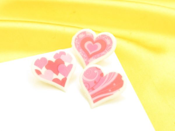 Dekoraufleger Herzen 10 Stück