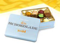 Präsentdose Schokoladenseite 150g