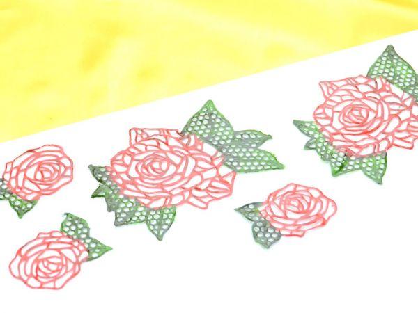 Spitzendekor-Matte Roses