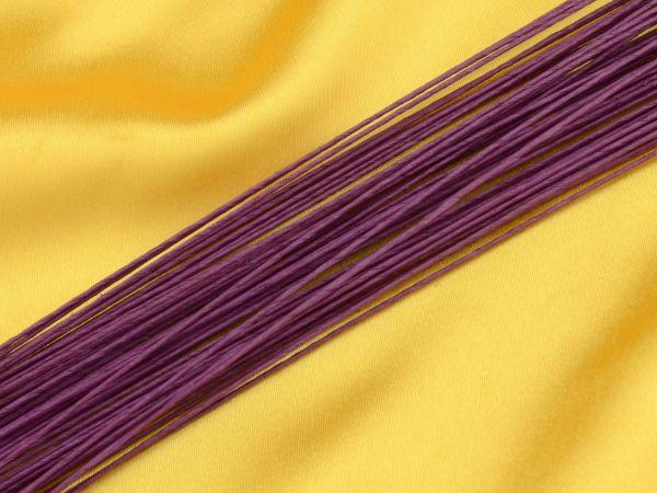 Blumendraht violett 24G 50 Stück