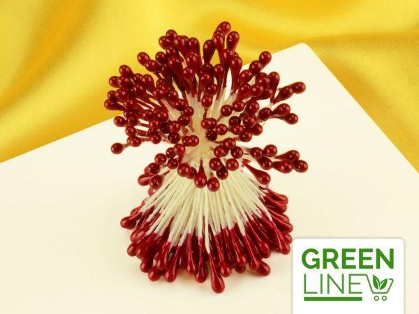 Staubblüten rot 120 Stück GREENLINE