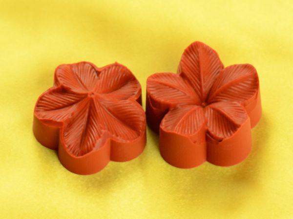Silikonstempel Blüte klein