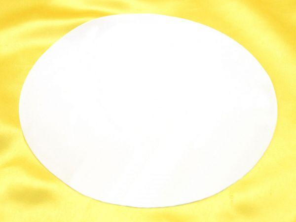 Fondantpapier rund 20cm 2 Stück blanko