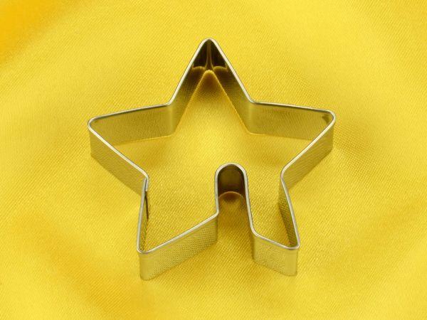 Tassenkeks-Ausstecher Stern 6cm