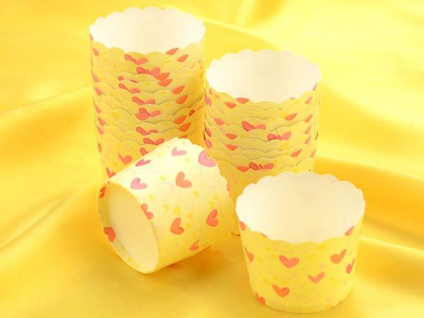 Cupcake Cup Herzen 20 Stück
