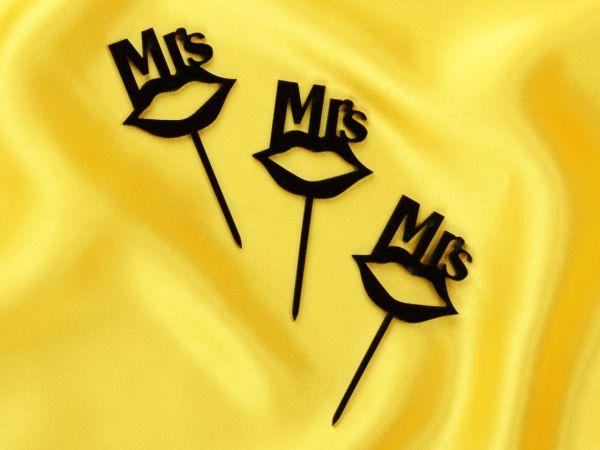 Cupcake Topper Mrs. Kuss