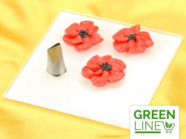 Garniertülle Blütenblatt extra klein GREENLINE