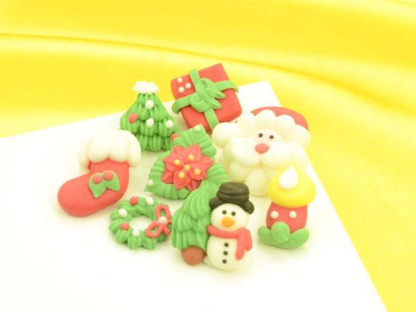 Weihnachtsdekore Zucker 8er Set