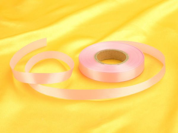 Satinband rosa 14mm, 30 Meter
