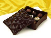 Schokoladenform Schatulle