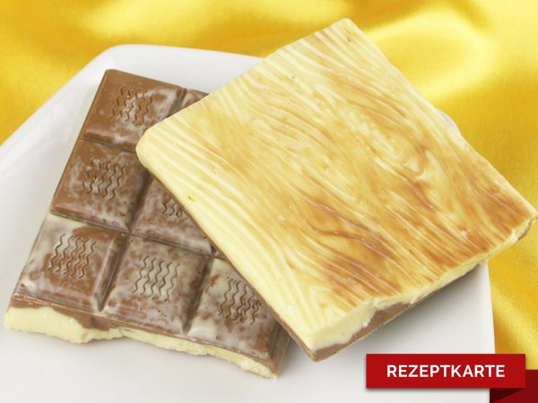 Schokoladentafel Karamell