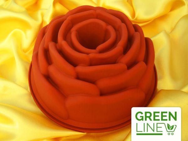 Silikonform groß Rose
