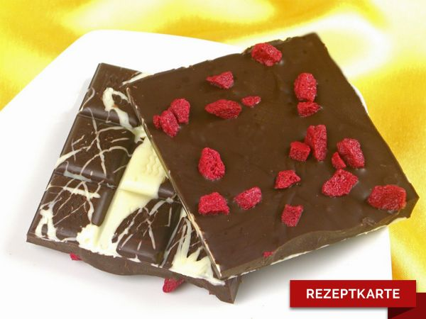 Schokoladentafel Hot Cherry