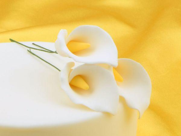 Feinzucker Blüten Calla Lily 3er