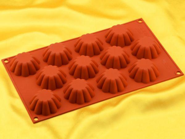 Silikonform klein Mini-Briochette