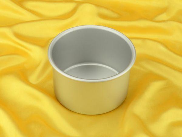 Backform rund, tief, für Torten 15x10cm