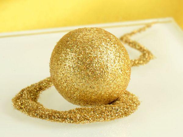 Glitzerpulver Disco Gold 10g