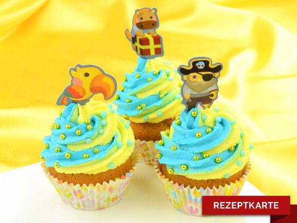 Orangen-Limetten-Cupcake