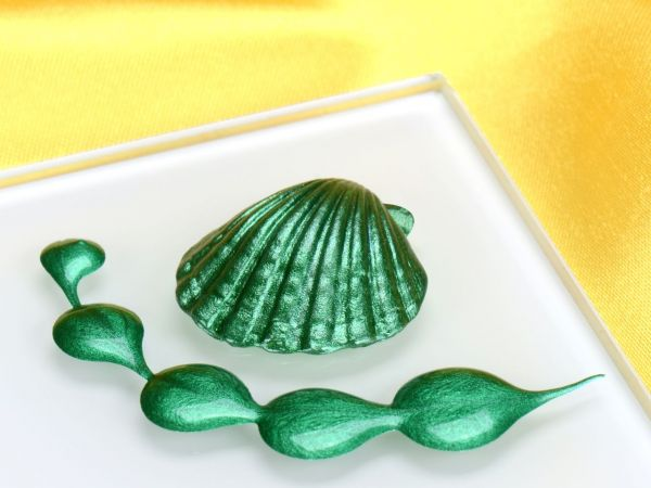Metallic-Lebensmittelfarbe Holly Green 25ml
