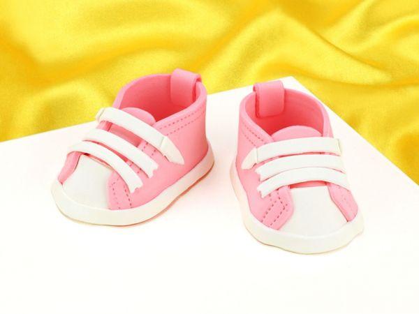 Feinzucker Babyschuhe pink