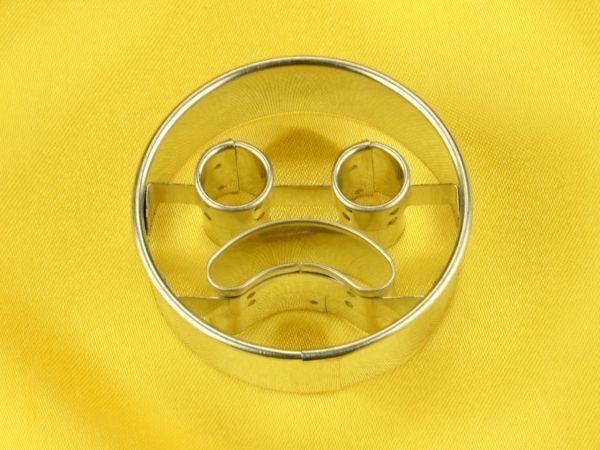 Ausstecher Emoji Frowning Face 5cm