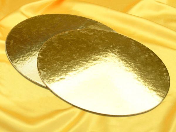 Golden Plate 35cm gold glänzend 2 Stück