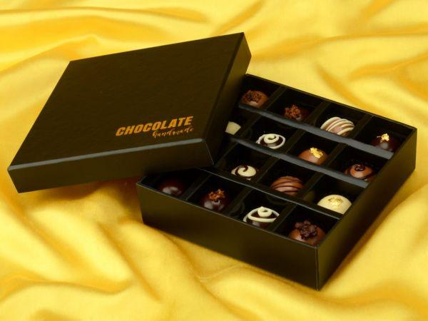 Chocolate Case Handmade für 16 Pralinen