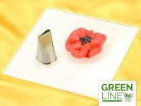 Garniertülle Blütenblatt klein GREENLINE