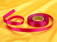 Satinband purpur 14mm, 30 Meter