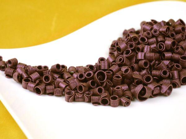 Schokoladen-Curls Purpur 50g