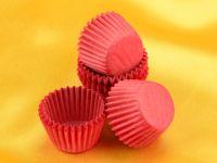 Pralinenkapseln 25mm pink 100 Stück