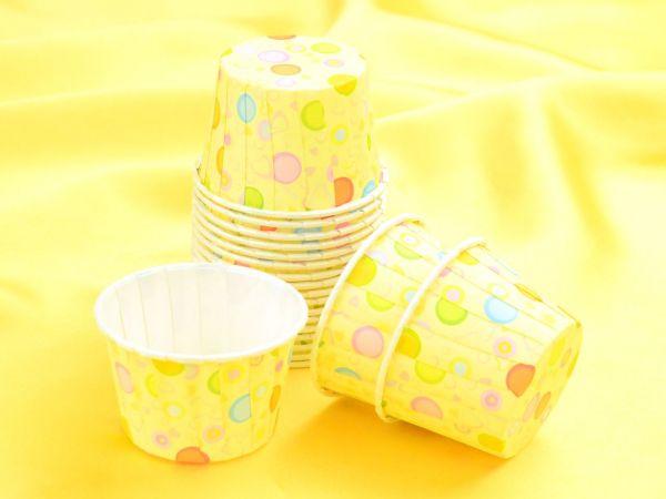 Cupcake Becher klein Bubbles 20 Stück