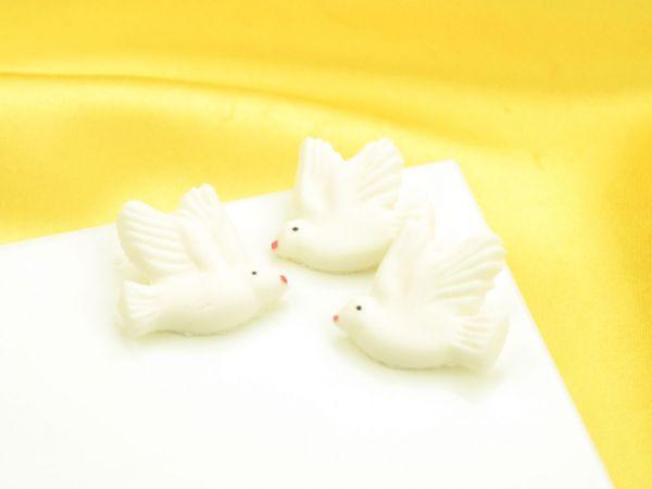 Tauben flach Zucker 4 Stück