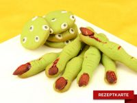 Hexenfinger und Zombie-Kekse