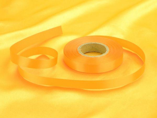 Satinband gelb 14mm, 30 Meter