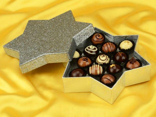 Chocolate Case Starlight für 13 Pralinen
