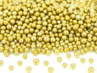 Goldperlen klein, Zucker 50g