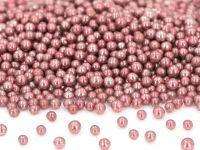 Metallic-Perlen rosa 50g