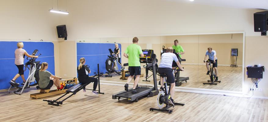 Fitnessstudio und Betriebssport