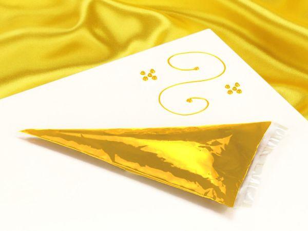 Garnierschrift gelb 70g