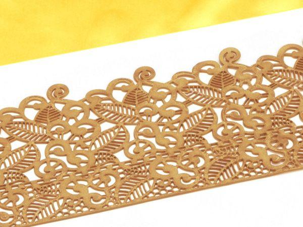 Spitzendekor Baroc gold