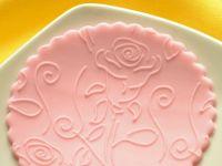 Strukturwalze Rose