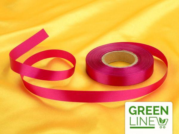 Satinband purpur 14mm, 30 Meter GREENLINE