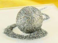 Glitzerpulver Hologram Silber 5g