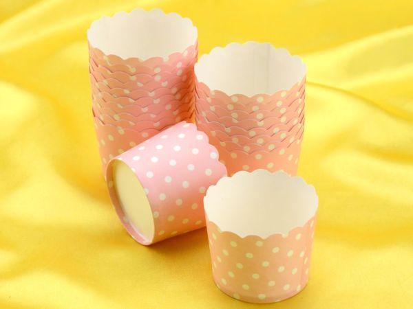 Cupcake Cup rosa 20 Stück