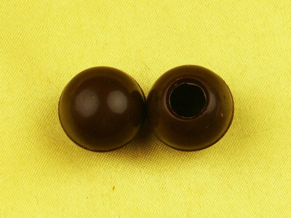 1 Folie Mini-Hohlkugeln Zartbitter