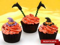 Halloween Hexen-Cupcakes